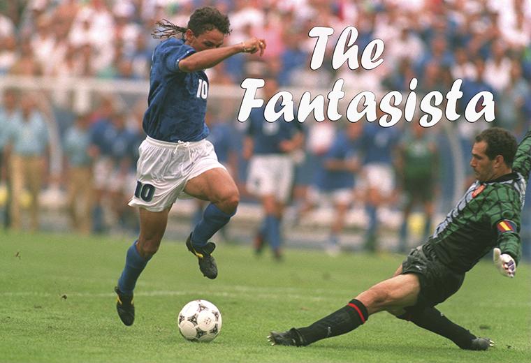 The Fantasista: Intelligence, Creativity, Technique – PartOne